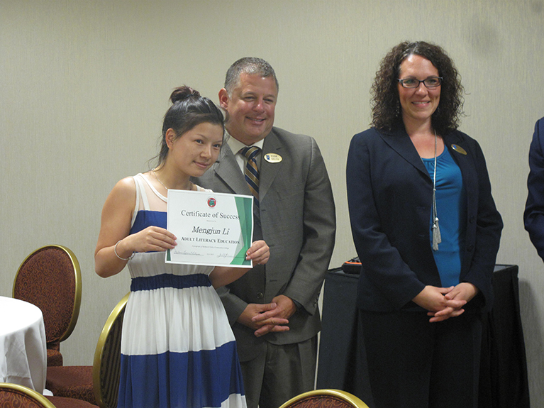 Employees Receive Certificates of Success for Completing Communication Program