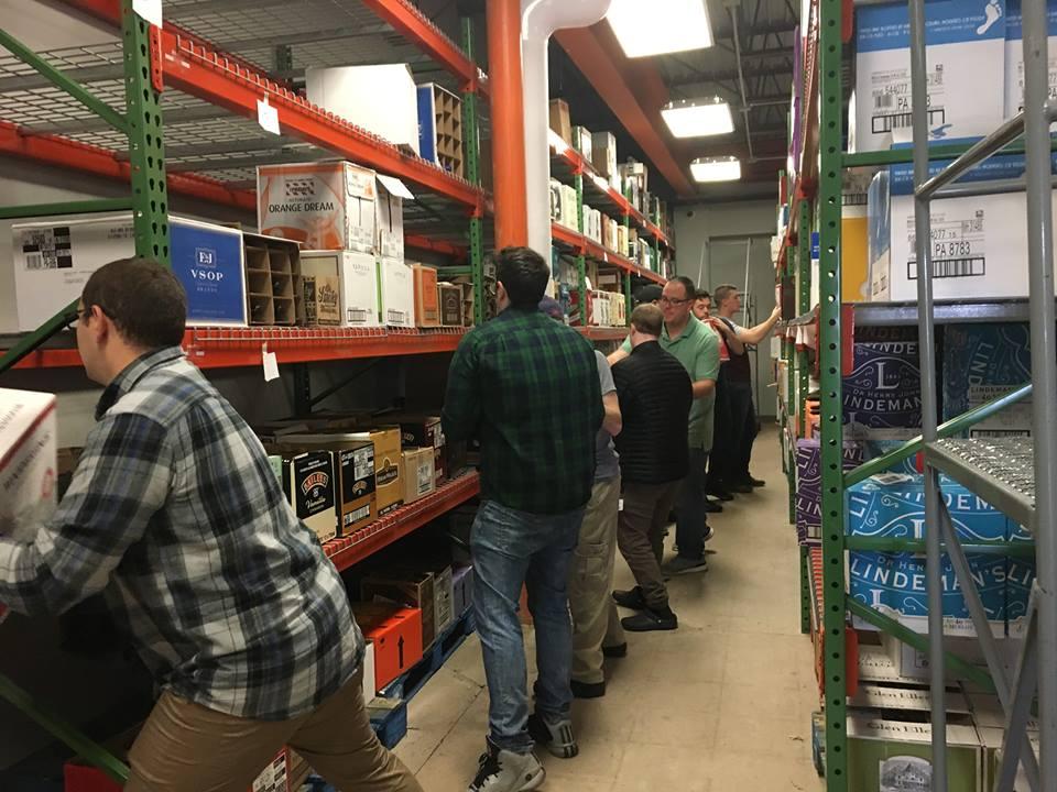 stocking warehouse