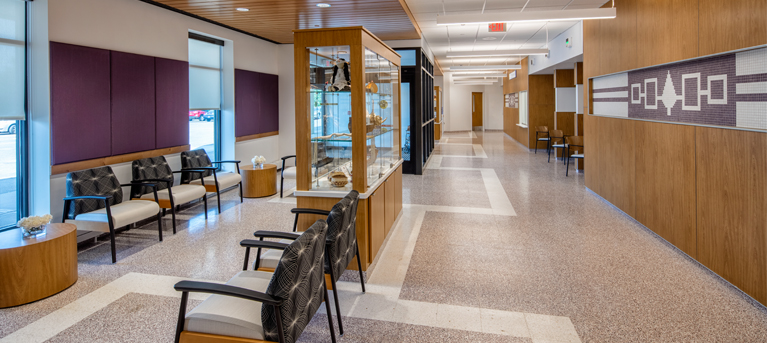 Oneida Nation Health Services Reception Area