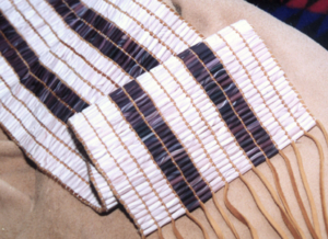 wampum dating This essay outlines the early history of wampum, explaining its origin, its value to native americans, and its first observations by europeans it then considers how wampum, as it existed in the 1610s, fits the role of wampum as described in the.