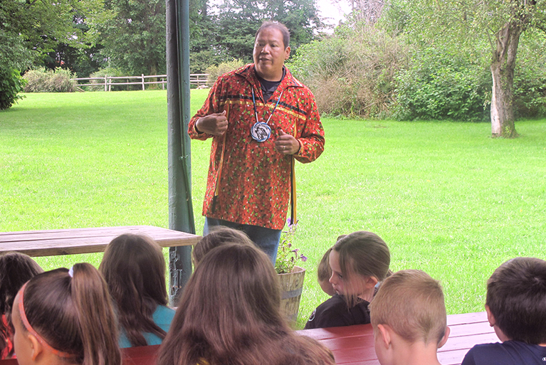 Youth Learn Significance of Nichols Pond