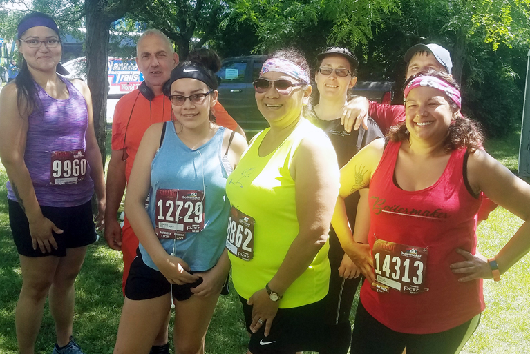 Running Club Conquers Boilermaker