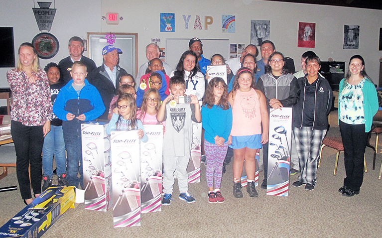 First Tee Awards New Clubs to Participants
