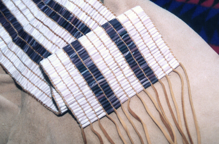 The Guswenta: Two Row Wampum Belt is a Symbol of Sovereignty