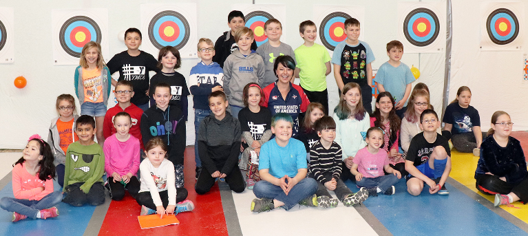 Paralympian Sammi Tucker Visits Warrior Archery, Shares Story of Resilience
