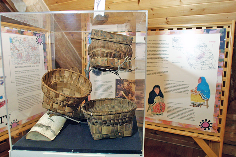 Artful Baskets, an Important Part of Oneida Culture, on Display at Shako:wi Cultural Center