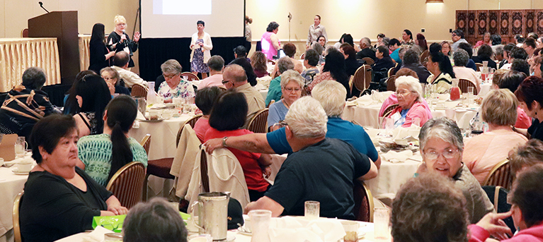 Elders Conference Brings Messages of Healing and Hope