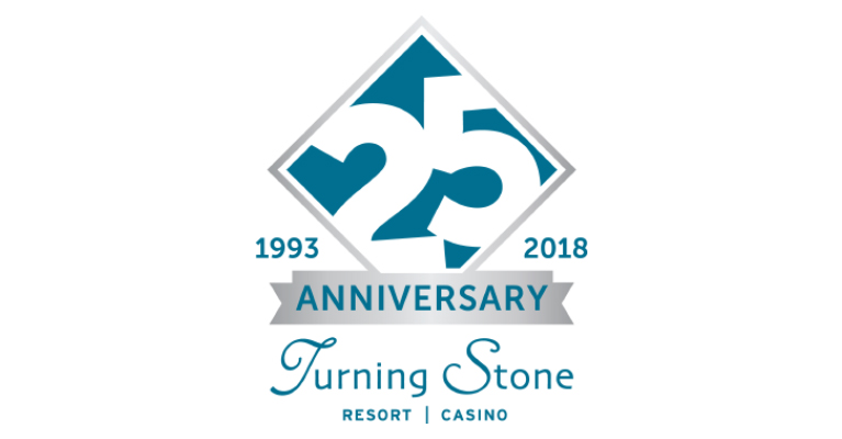 Turning Stone Resort Casino Kicks Off 25th Anniversary Celebration