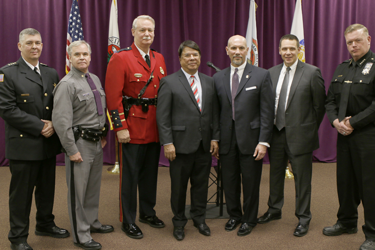 Oneida Indian Nation Police Department Recognized for 25 Years of Service to Oneida Nation Members and Local Communities