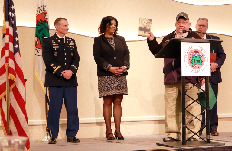 More Than 400 Central New York Veterans Attend  Oneida Indian Nation's 18th Annual Veterans Recognition Ceremony