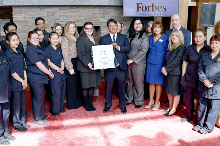 Turning Stone Celebrates Three Forbes Travel Guide Four-Star Awards with a Special Recognition Ceremony