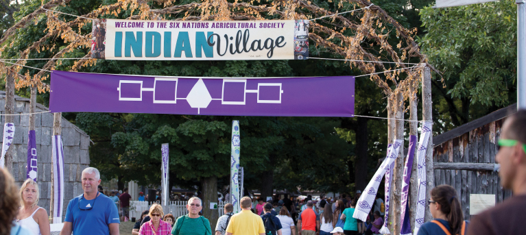 Visit the Six Nations Agricultural Society Indian Village at the New York State Fair