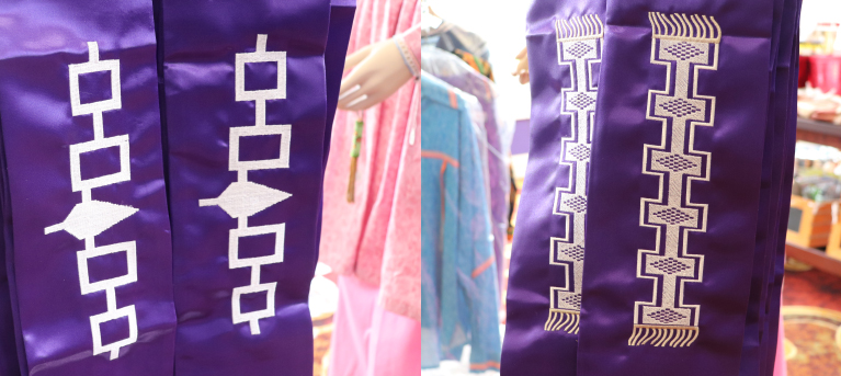 Graduation Stoles Can Be Purchased at Oneida Heritage