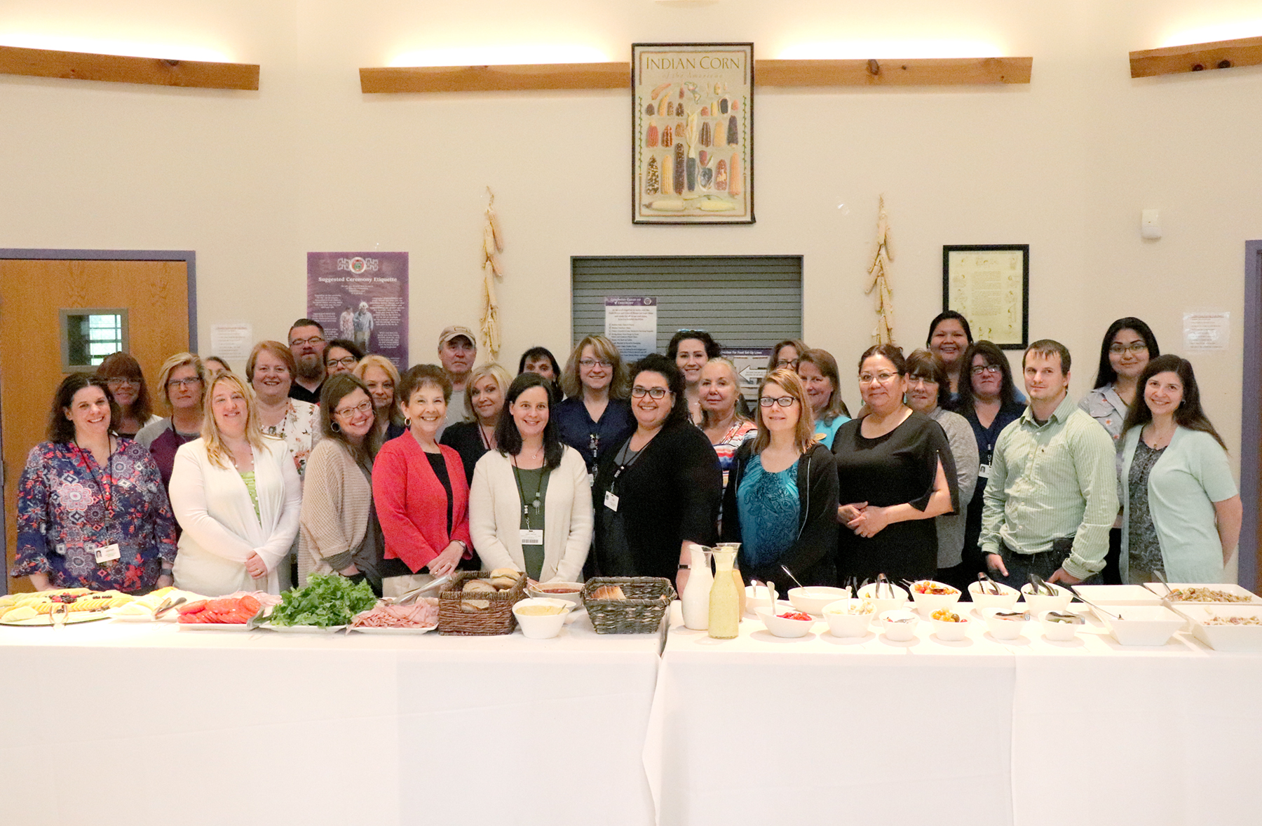 Employees Celebrate Another Year Completing Health Program