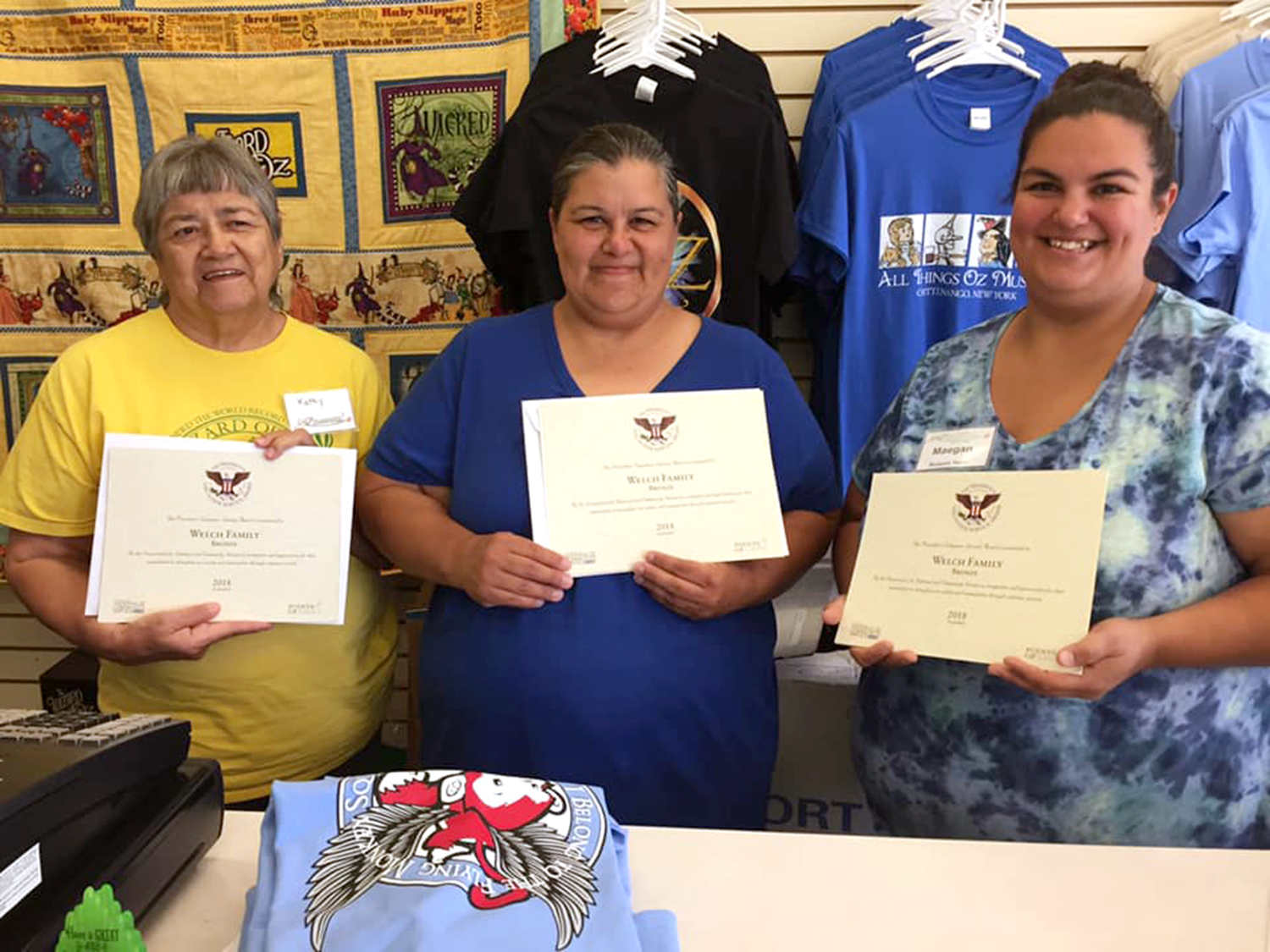 Nation Members Receive Volunteer Awards