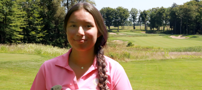 Youth Work/Learn Participant Reflects on Summer Job Placement at Turning Stone's Golf Department