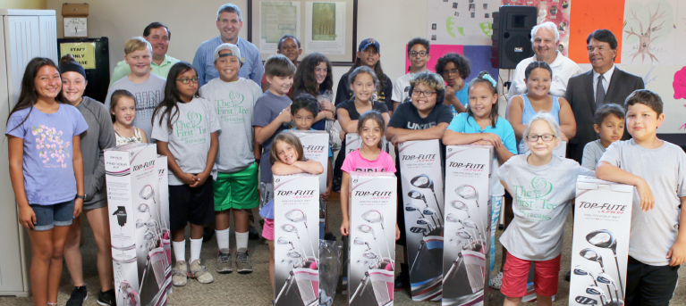 Nation Awards New Golf Clubs to First Tee Participants on Summer Jam Family Day