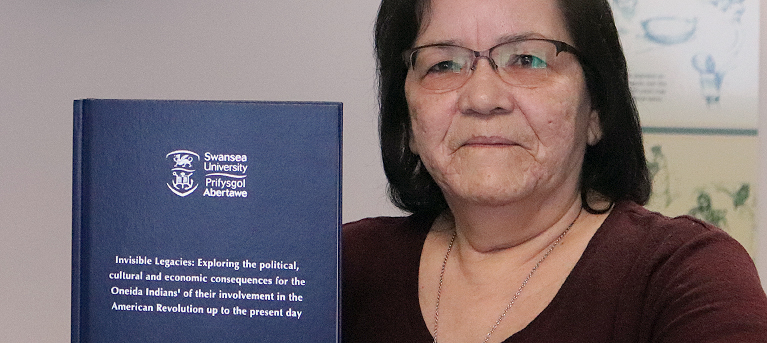 Nation Member Adds Native Voice to Historical Record in Doctoral Dissertation