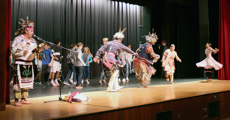 Nation Visits Vernon Verona Sherrill High School for Native American Cultural Education Day