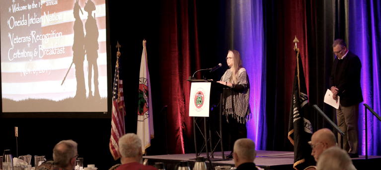 Oneida Indian Nation Honors Veterans at 19th Annual Recognition Ceremony