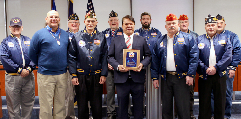 Oneida Indian Nation Recognized by the Madison County War Veterans Committee for Contributions to Local Veterans Memorial