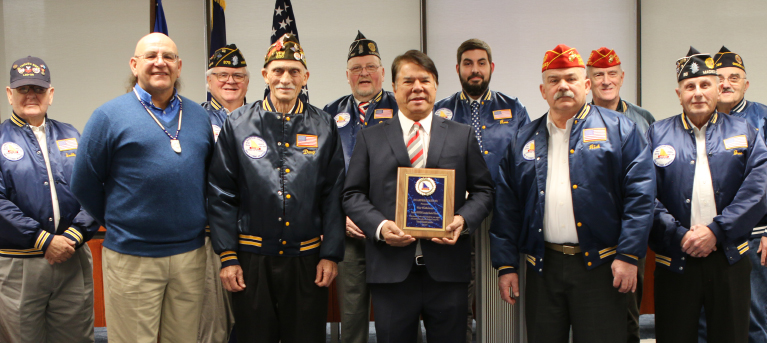 Oneida Indian Nation Recognized by Madison County War Veterans Committee for Contributions to Local Memorial